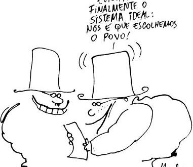 Uma charge do Henfil