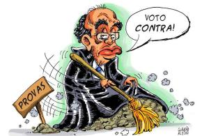 A CHARGE E GILMAR MENDES
